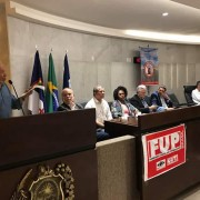 Discursa Haroldo Lima, ex-presidente da Agência Nacional de Petróleo (ANP)